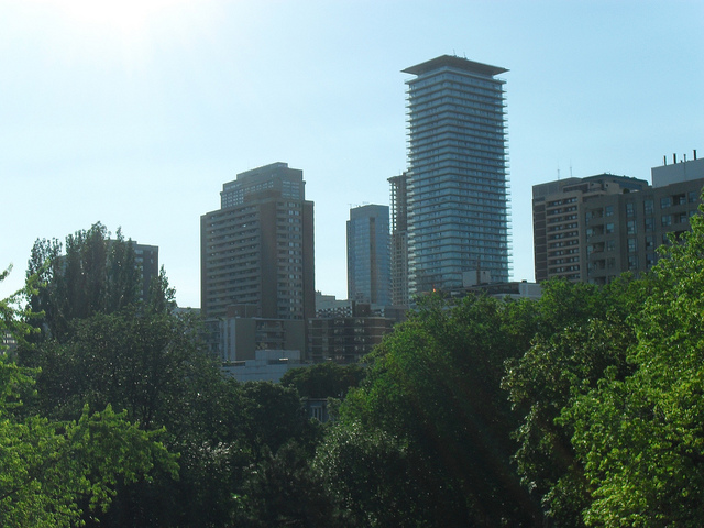 Yorkville from balcony