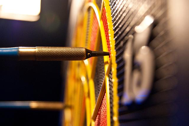 Dart board by maskarade