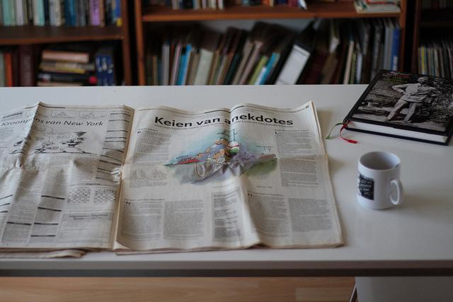 Newspaper by 24oranges nl