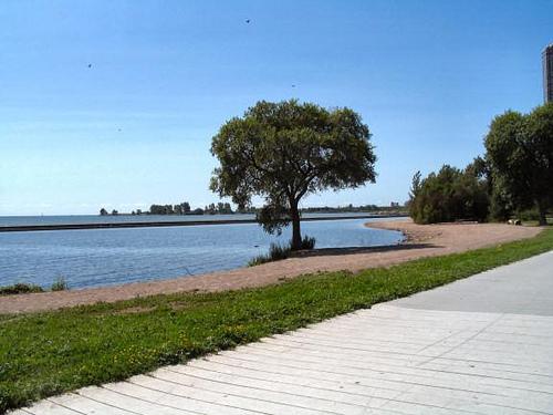Boardwalk Ontario Lake