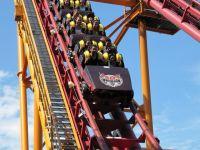 The Bat Vekoma Boomerang coaster at Canadas Wonderland by Loozrboy