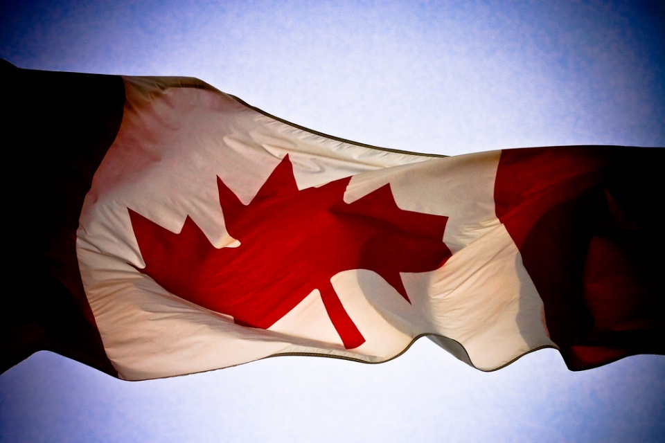 Canada Flag by Alex Indigo
