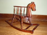 Antique Rocking Horse by Aaron