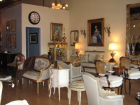 Marie Antoinette French Antiques and Fine Furniture Showroom