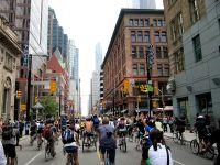 Toronto Biking by James Schwartz