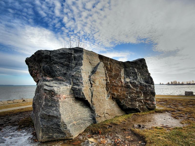 Sheldon Lookout Rock by Allen McGregor
