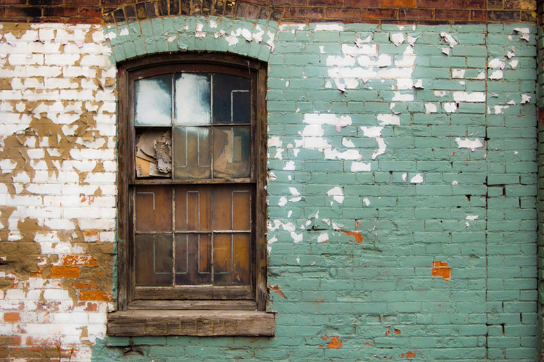 Old Window by Ryan Tir