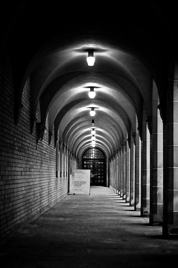 Kings College Hallway by Jose Herrera