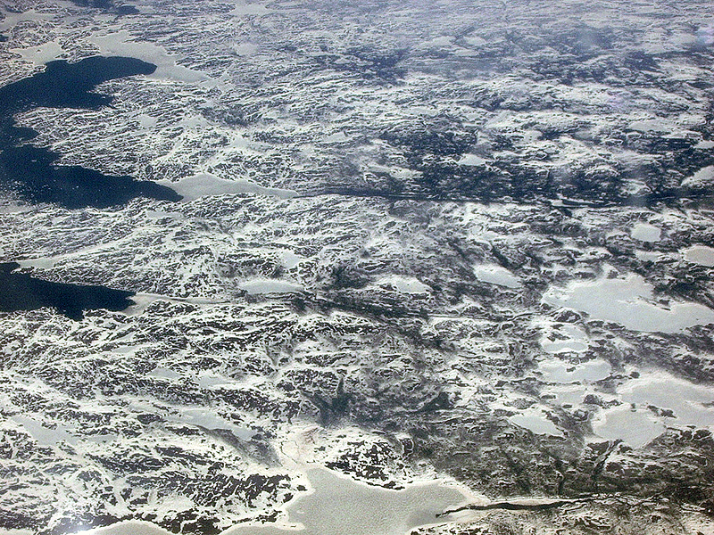 Toronto from the Plane by Antony Stanley