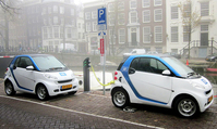 Car2Go in Amsterdam by Wikimedia Commons