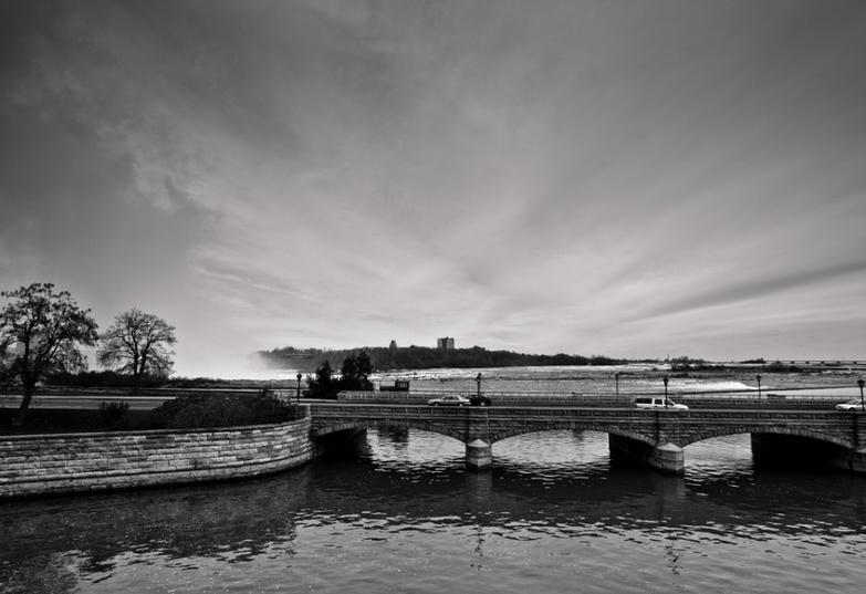 Bridge across Niagara river
