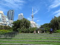 Toronto Music Garden Steps