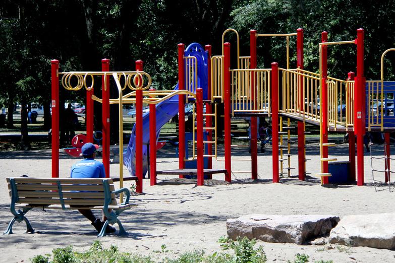 Kids Playground on the beach