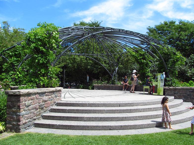 Music Garden Open Gazebo for performers