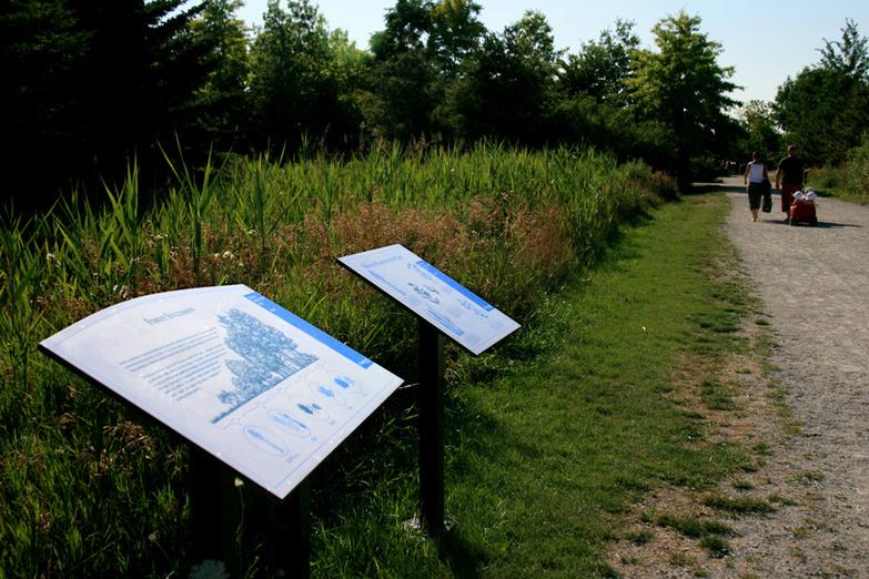 Pathway Info Colonel Samuel Smith Park