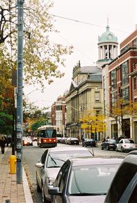 Streetcar in Toronto by Matt Kieffer