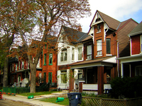 Toronto Houses by Robert Jack Will