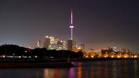 Toronto at Night by Andy Burgess