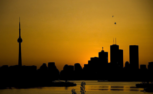 Buildings of Toronto by Bitpicture