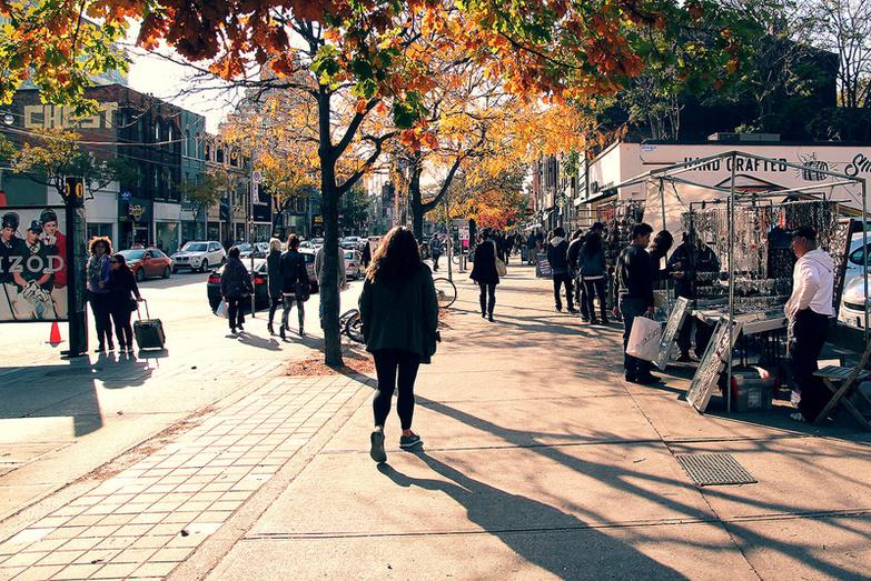 Toronto streets Downtown