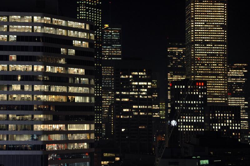 Toronto at Night by Mike Willis