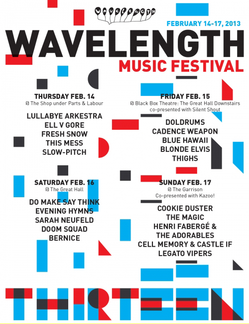 Wavelength Music Festival Poster