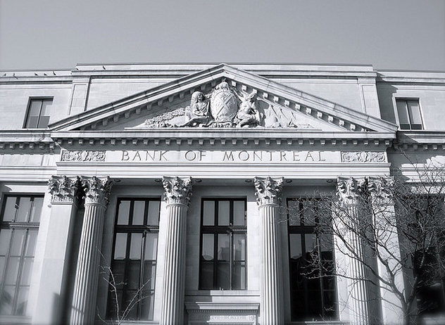 The Bank of Montreal by J L  Trinh