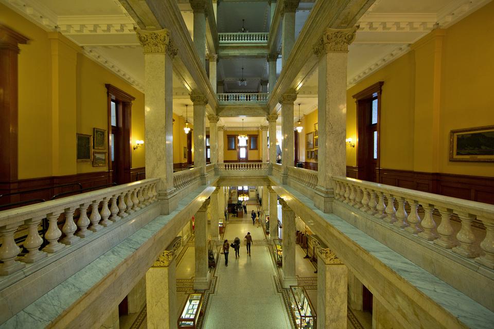 Ontario Legislative Building Top Floor