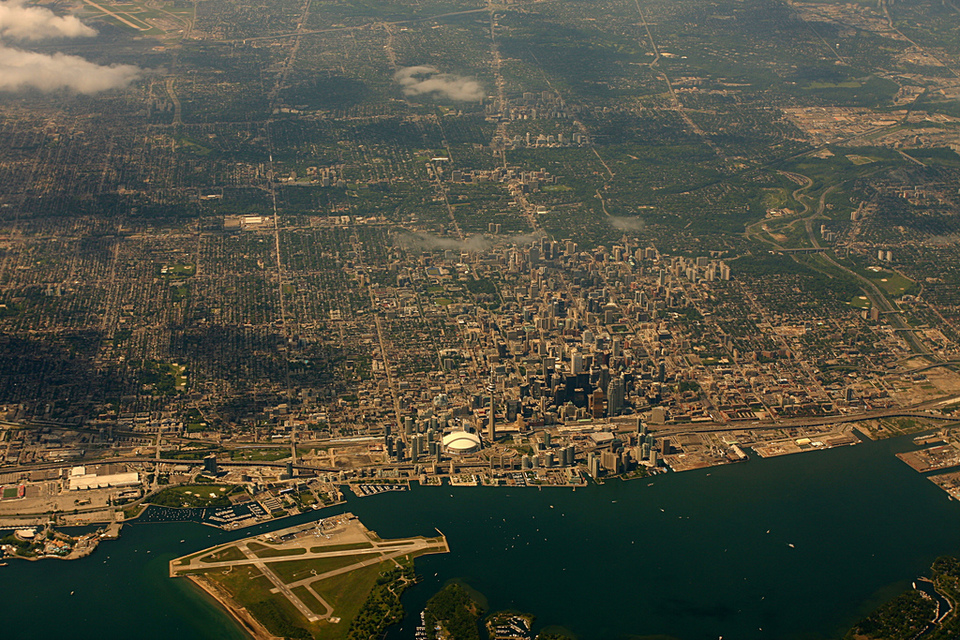 Toronto from the air