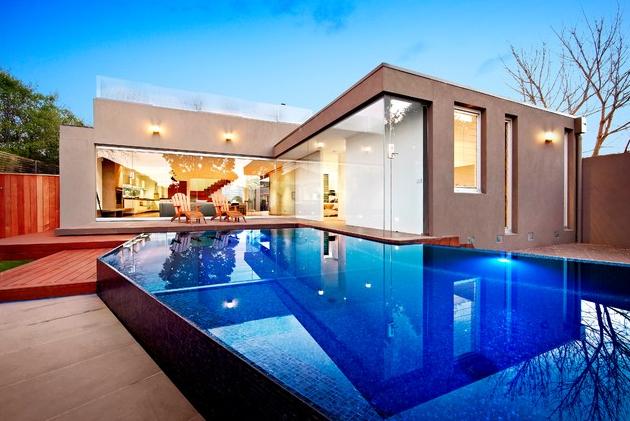 Asymetric Pool b Aloha Pools Pty Ltd