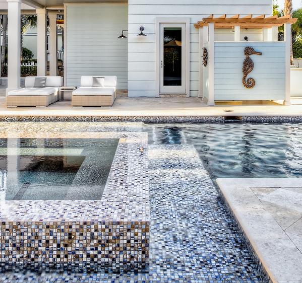 Mosaic by Beach Chic Design