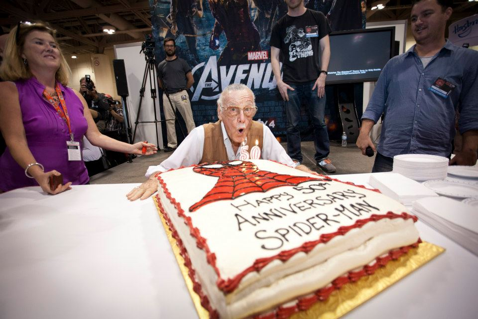 Stan Lee at Fan Expo Canada
