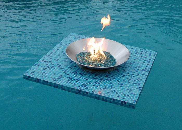 The Aqua Fire Pit