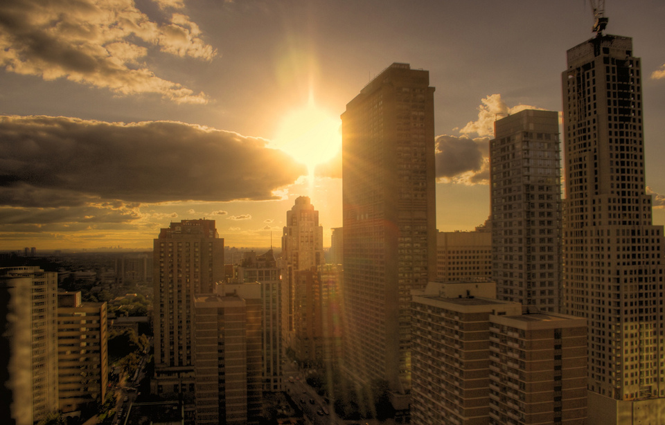 Sunset in Toronto by Graham