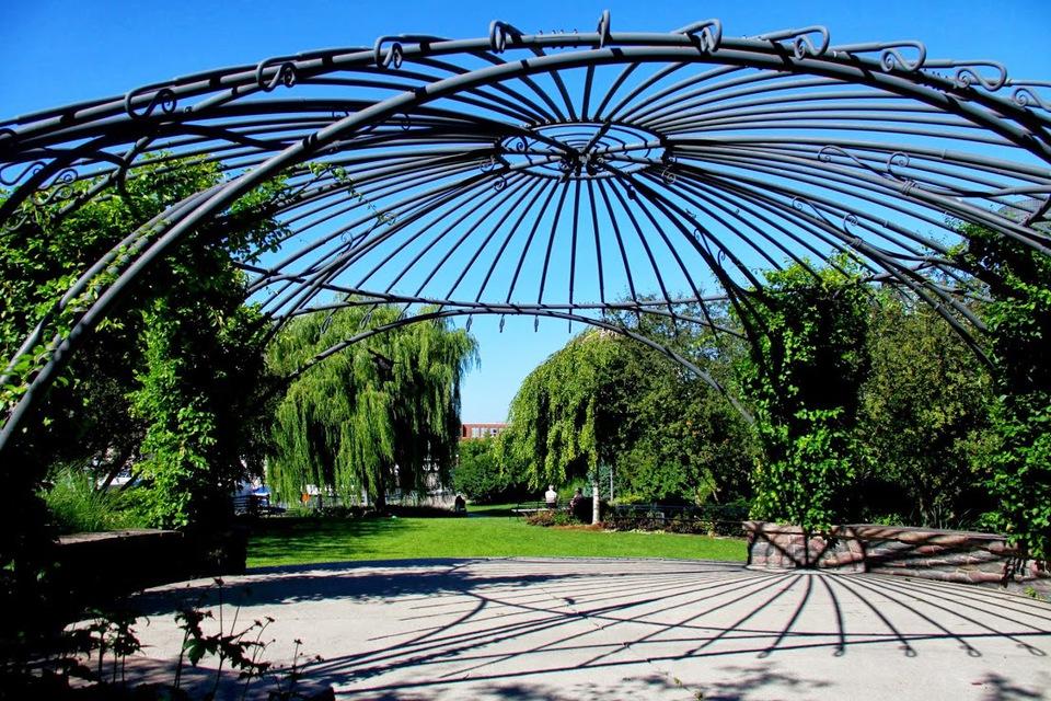 Toronto Music Garden Park Stage