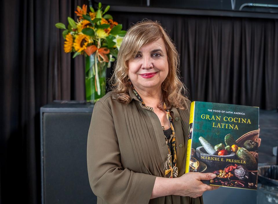 Celebrity Chef Maricel Presilla Presenting Her Cookbook