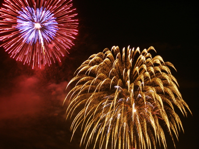 Fireworks by Amani Hasan