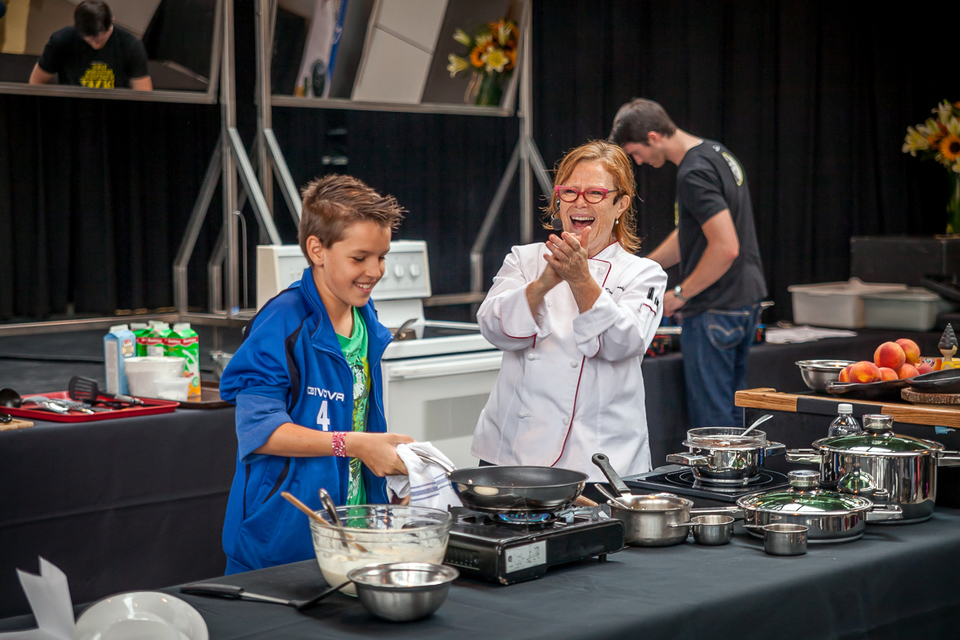 Live Cooking Show Donna Dooher