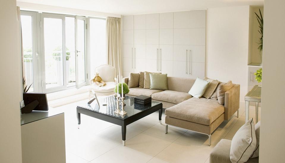 Living Room by Tom Merton