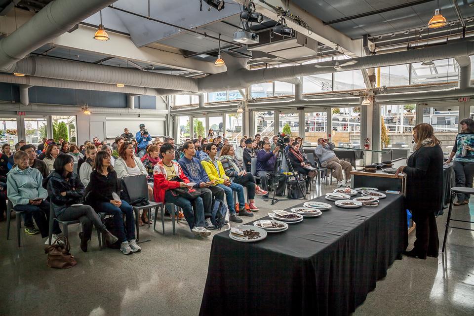 Maricel Presilla Live Cook Show and Presentation