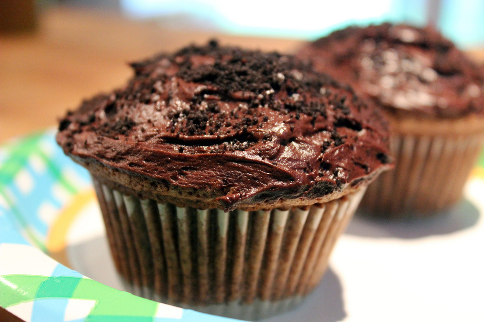 Oreo Chocolate Muffins by TALMADGEBOYD