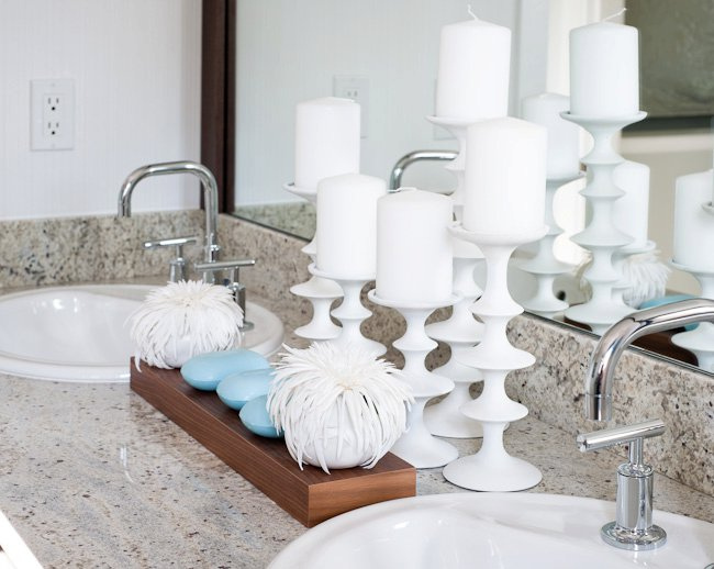 Important details in bathroom by