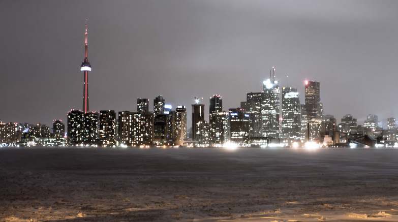 Toronto In January By Alvin Ang