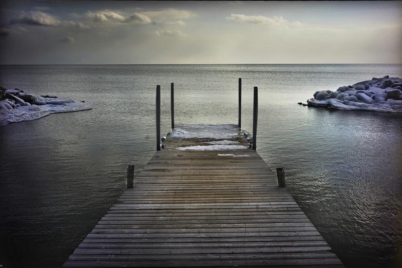 Winter Kew Beach In Toronto By Marc Gautier