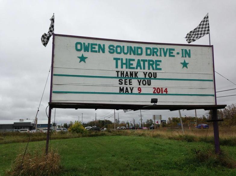 Owen Sound Drive In