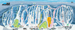Blue Mountain Winter Trail Map