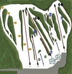 Ski Dagmar Trail Map