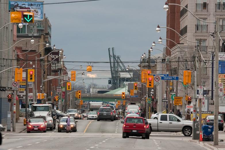 Downtown Toronto by Alex Pierre