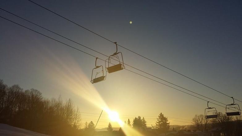Hidden Valley Highlands Ski Area dawn