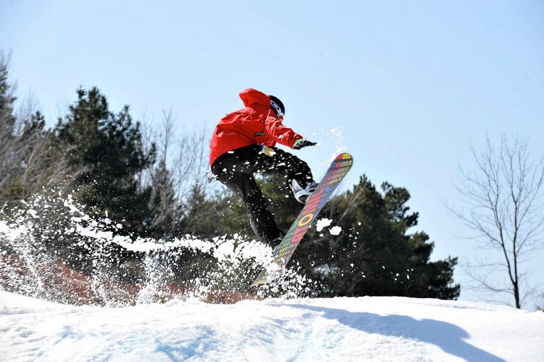 The City of Toronto Snowboarding in Centennial Park